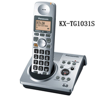 KX-TG1031S digital telephone 1.9 GHz DECT 6.0 Cordless Phone with Answering system