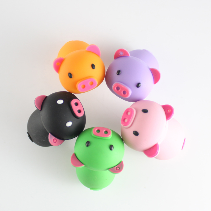 Cute cartoon USB flash drive pig model pen drive 4g/8g/16g/32g free shipping usb card hot sale USB stick USB 2.0 U disk