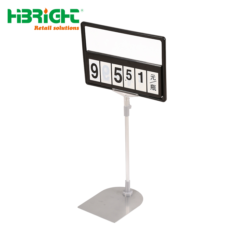 Plastic Snap Poster Frames With Pocket For Advertising