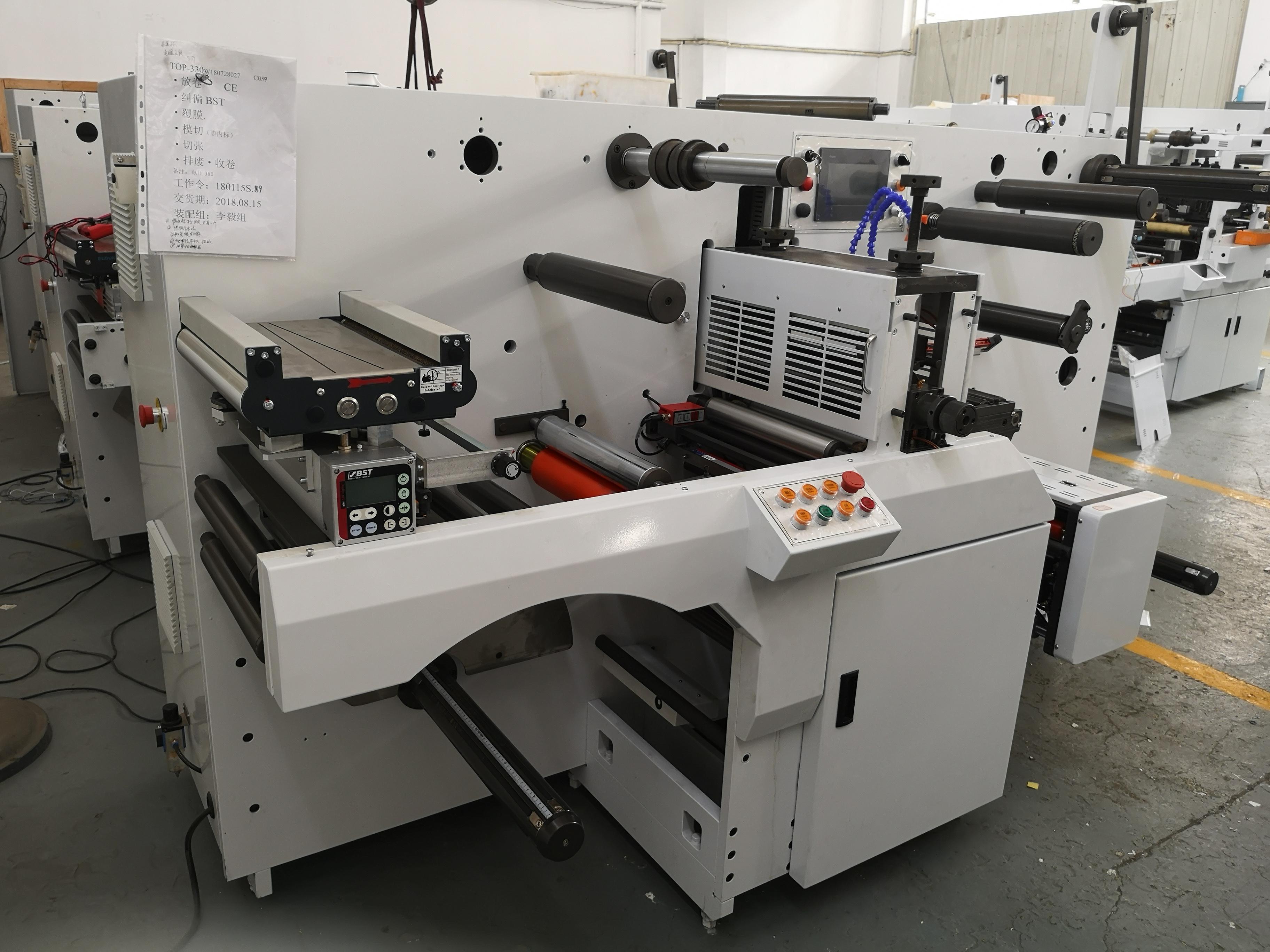 DBGS320 Type High Speed automatische Intermitterende papier label rotary sterven snijmachine