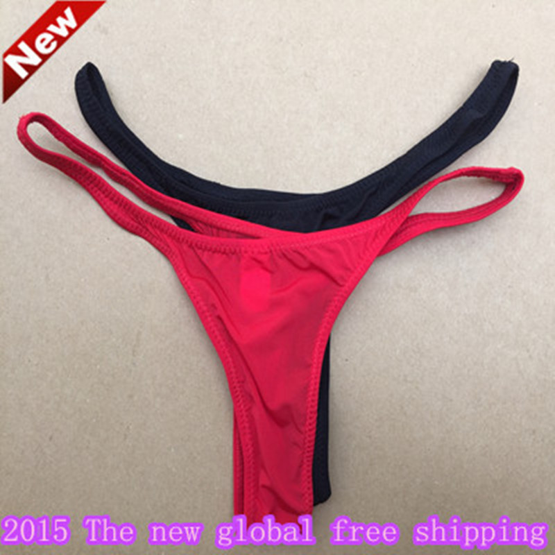 ffc9487ec Hot sexy thong underwear TM gay men popular brand men s jockstrap G string  thong underwear sexy men s clothing brand Bikini
