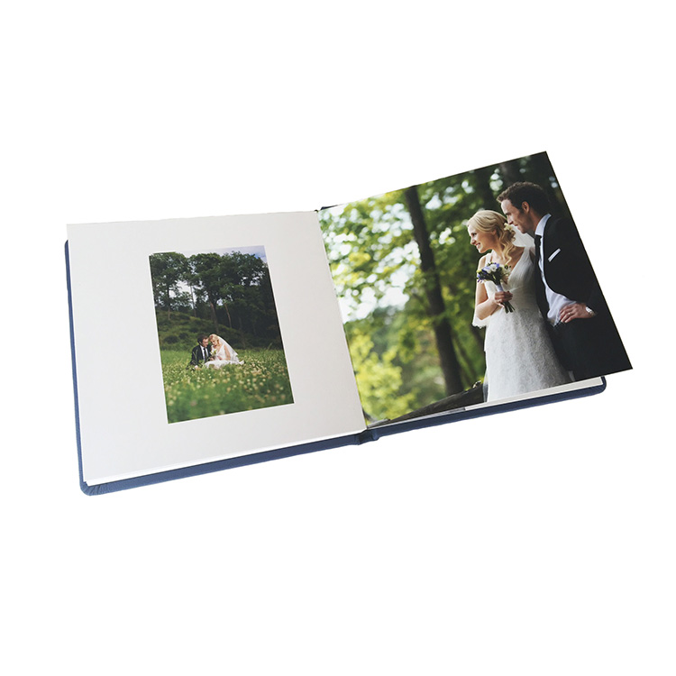 hot sale professional manufacturer leather cover diy waterproof couple photo album