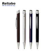 Reliabo Promotional Gift Slim German Style Ballpoint Heavy Metal Pens With Custom Logo