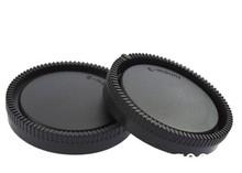 Rear Lens Cap Cover + Camera Front Body Cap For Sony NEX ILCE E Mount Cameras & Lens NEX6 NEX7 A5000 A6000 NEX3 NEX5 A7 NEXF3