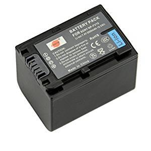 DSTE NP-FV70 Replacement Li-ion Battery for Sony FDR-AX40 AXP55 DCR-SR21 SR68 SX83E FDR-AX100 HDR-CX380 CX430V CX450 HC9 PJ675 PJ760V PJ790V TD10 XR160 XR260V Camera as NP-FH70
