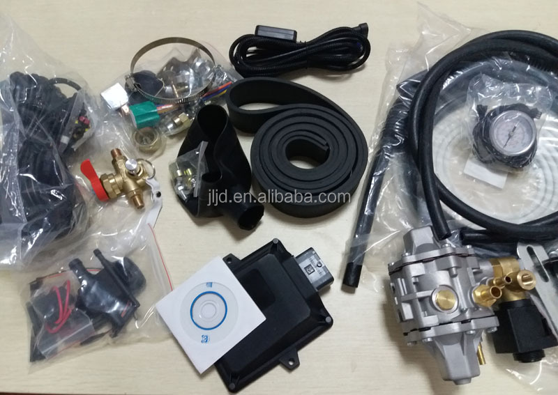 Injector Type LPG Kit CNG Kit MP48 ECU completed kits for sequential system