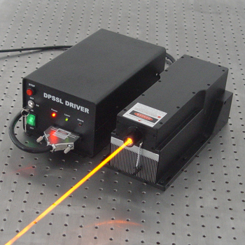 589nm High Stability Yellow laser for optogenetics