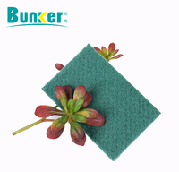Heavy green household and industry usage scouring pad