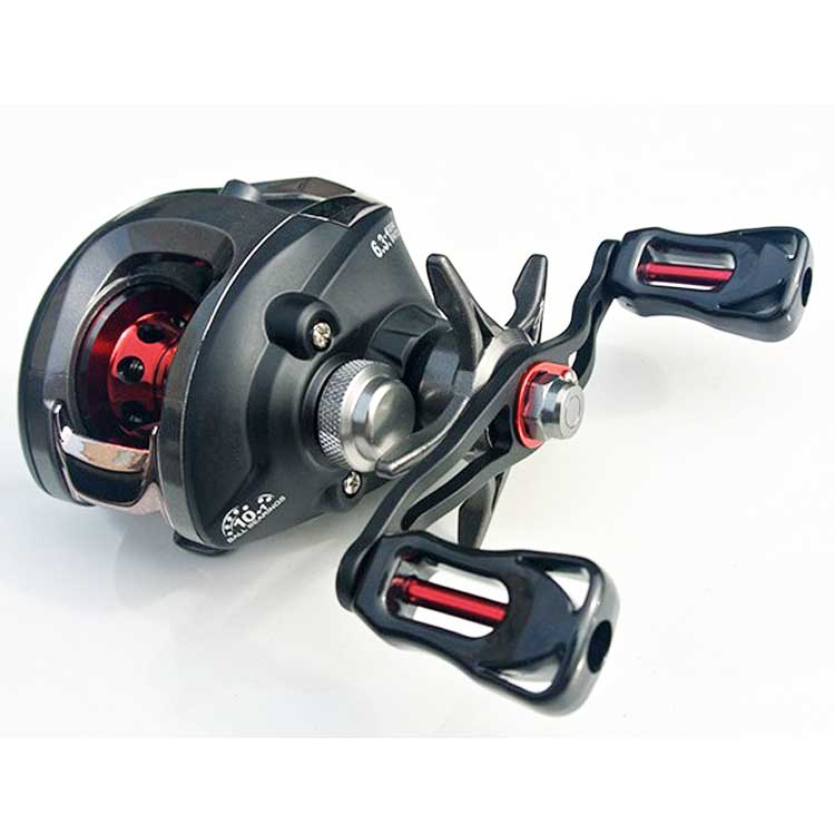 Hot selling promotion 10+1 BB low profile baitcasting reel, As the picture show