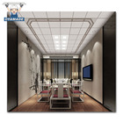 300*300mm New technology panel easy clean home deco square aluminium ceiling tiles by Langtai