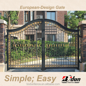 Wrought 2016 Residential Bi Folding Gate Grill Fence