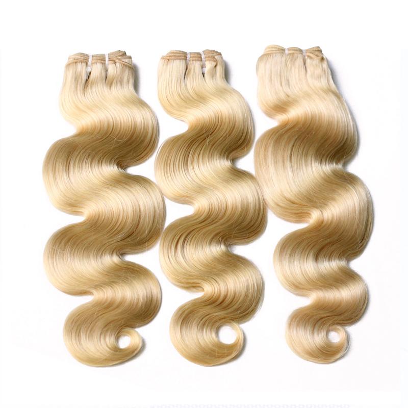 Brazilian hair weaveblonde, 613 Blonde Virgin Hair Vendors Body Wave, Perfect Lady Most popular human platinum blonde hair фото