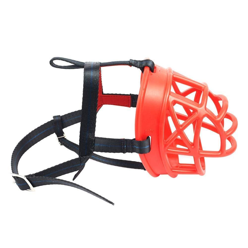 Jocestyle Pet Dog Mask Adjustable Anti Bark Bite Chew Mouth Dog Muzzle for Medium Large Dogs