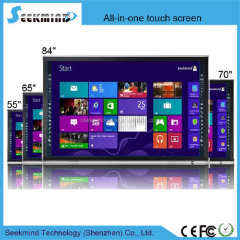55 65 70 84 inch interactive screen led touch monitor smart board android tv for school buy. Black Bedroom Furniture Sets. Home Design Ideas