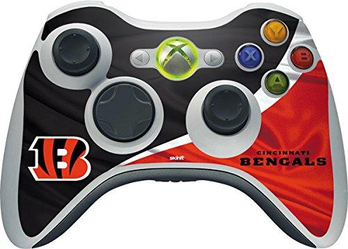 NFL Cincinnati Bengals Xbox 360 Wireless Controller Skin - Cincinnati Bengals Vinyl Decal Skin For Your Xbox 360 Wireless Controller