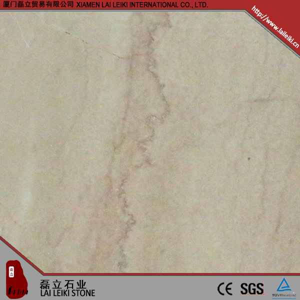 High standard production Red-gream italian rose marble