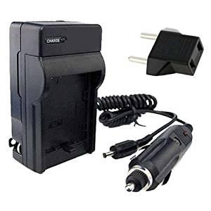 Canon Powershot G6 Digital Camera BP-511 Battery and Wall Charger with Car Charger Adapter DavisMAX BP511 Battery Charger Bundle