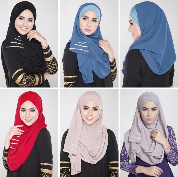 2016 hijab manufacture turkish fashion indian hijab scarf instant shawls and tudung heavy chiffon