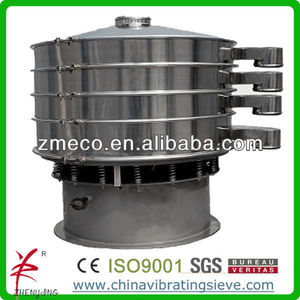 Food grade SUS304 vibrator flour sifter export to European
