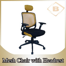 Executive Mesh Office Chair BX-5018A with Wheel Base Headrest