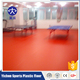 Organic and 100% pure PVC virgin raw materials badminton court mat wholesale