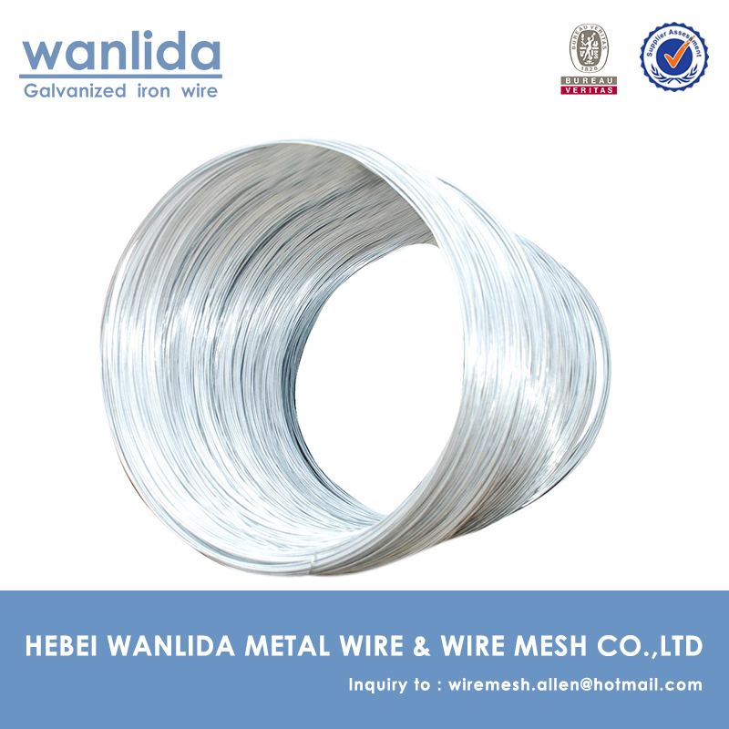 hot dipped galvaized woven wire / metal wire / 2mm galvanized wire
