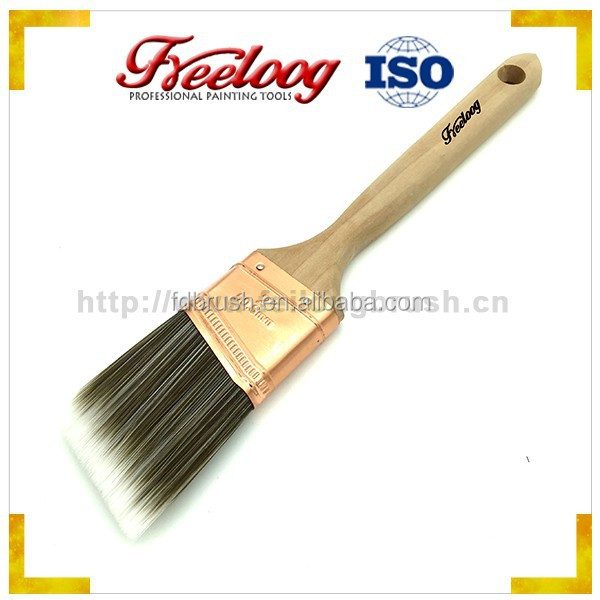 Good price personalized paint brush, filaments paint brush wooden handle