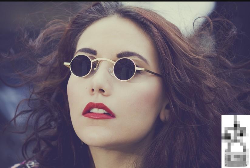 Wholesale New Steampunk Sunglasses Men Women Vintage Round Metal ... 6be986186d