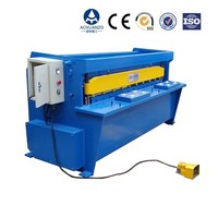 hot sale sheet metal automatic electric shearing machine/steel plate manual electrical cutting machine