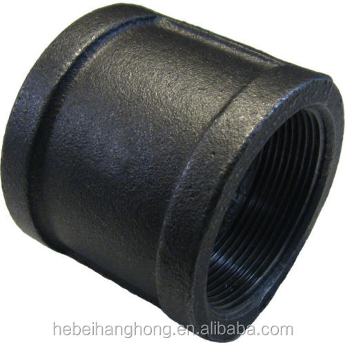 Galvanised coupling female threaded cast iron pipe fittings