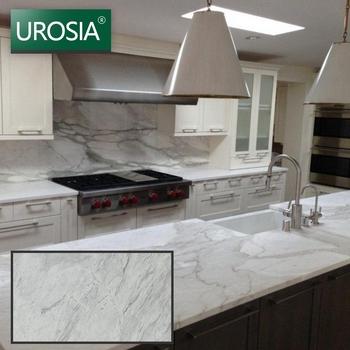 Kitchen Countertop Marble Benchtop Slab Table Top Italian White Carrara Price Benchtops