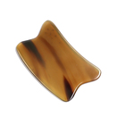 Chinese medicine health care to solve the health problems of the body natural white buffalo horn scrapping board guasha tool