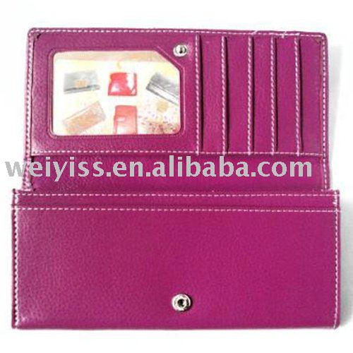 Leather /PU/PVC Women's Clutch Wallet
