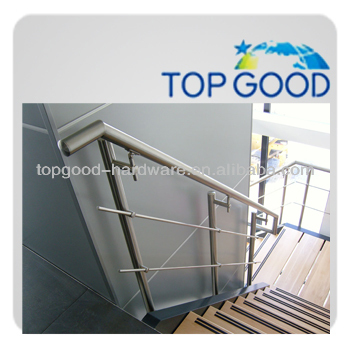 Can different geographical environments use outdoor metal stainless steel stair topless glass railing for design systems