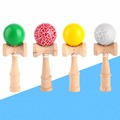 2016 High quality safety Bamboo Kendama Toys Best Educational outdoor wooden toys for children Traditional Sports