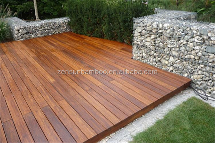 Professional production charcoal outdoor bamboo deck for Bamboo flooring outdoor decking