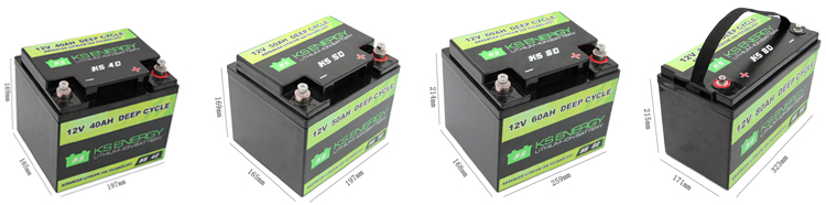 3000 Times Deep cycle lifepo4 12v 40ah lithium ion battery