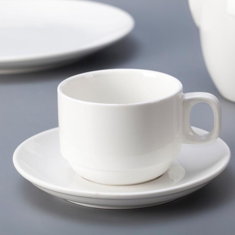 product-Banquet Hall SuppliesCatering Buffet Decoration Restaurant Tableware, Plain White Porcelain