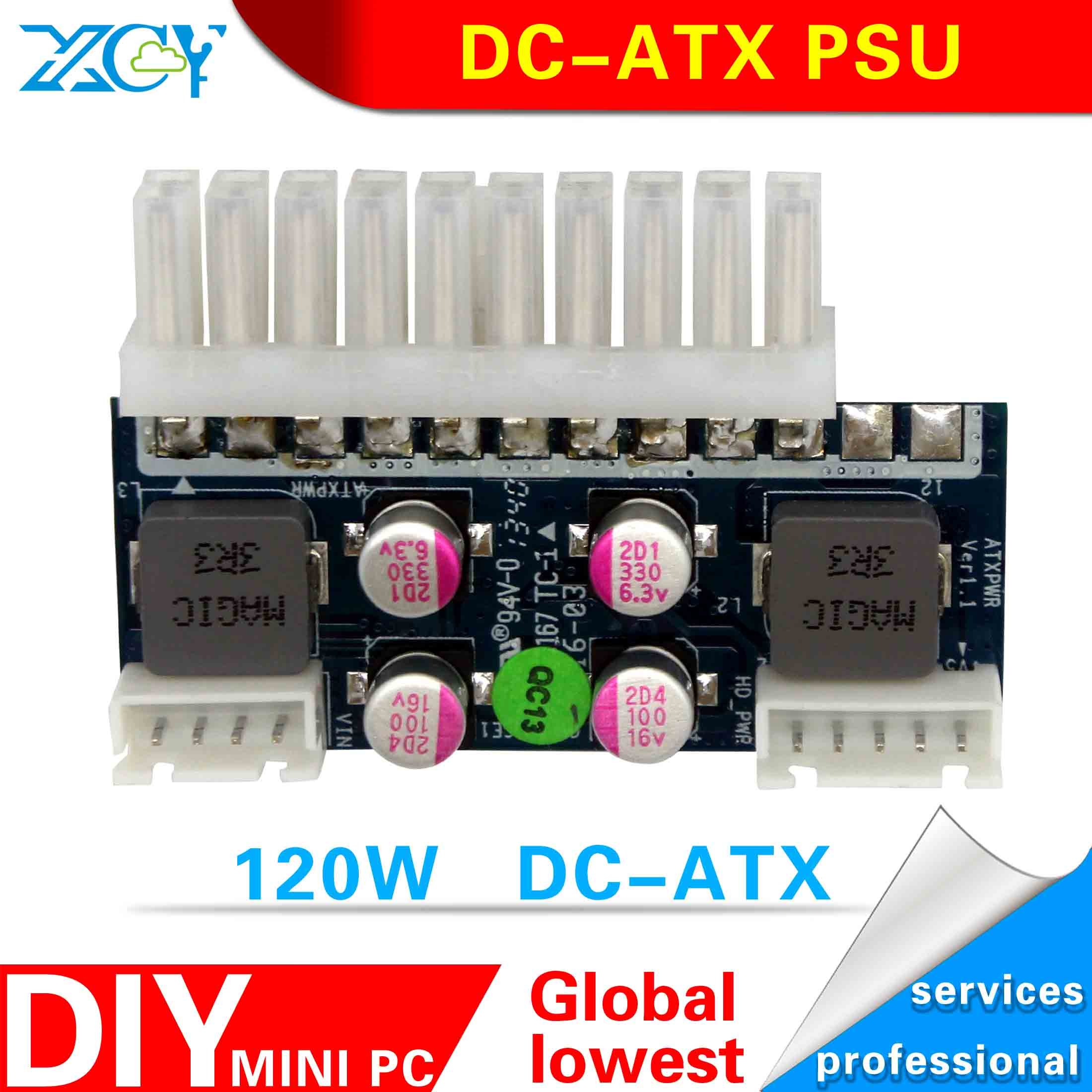dc-atx power supply board 12v dc-atx power adapter Support pos machine direct plug-in power module