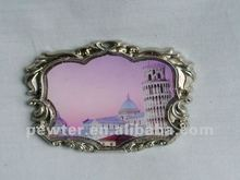 2012 Leaning Tower Pisa metal fridgemagnet 0063