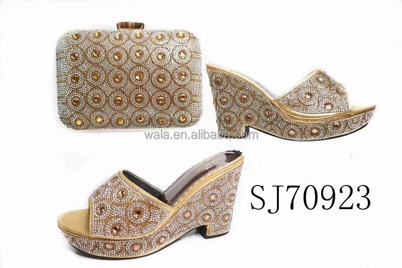 matching and bag purple with wedge SJ70923 shoes stones square tqSYgwtUx