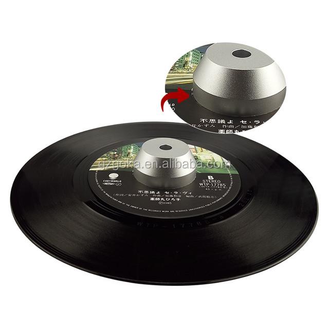 480g แผ่น CD น้ำหนัก Clamp Stabilizer สำหรับเครื่องเล่นแผ่นเสียงสำหรับ 7 นิ้วอะแดปเตอร์ 45 rpm