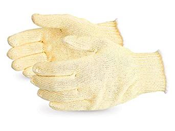 Superior SKGC Contender Economy Polyester/Silica-Infused Fiber/Aramid Composite Knit Glove, Work, Cut Resistant, 7 Gauge Thickness, Medium (Pack of 1 Pair)