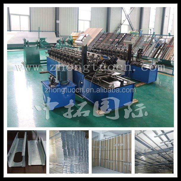 Hydraulic automatic steel door frame making machines