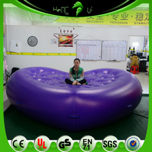 Giant Inflatable Soft And Comfortable Purple Sofa Bed