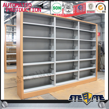 Metal Commercial Bookshelves Used Library Furniture For Sale Buy