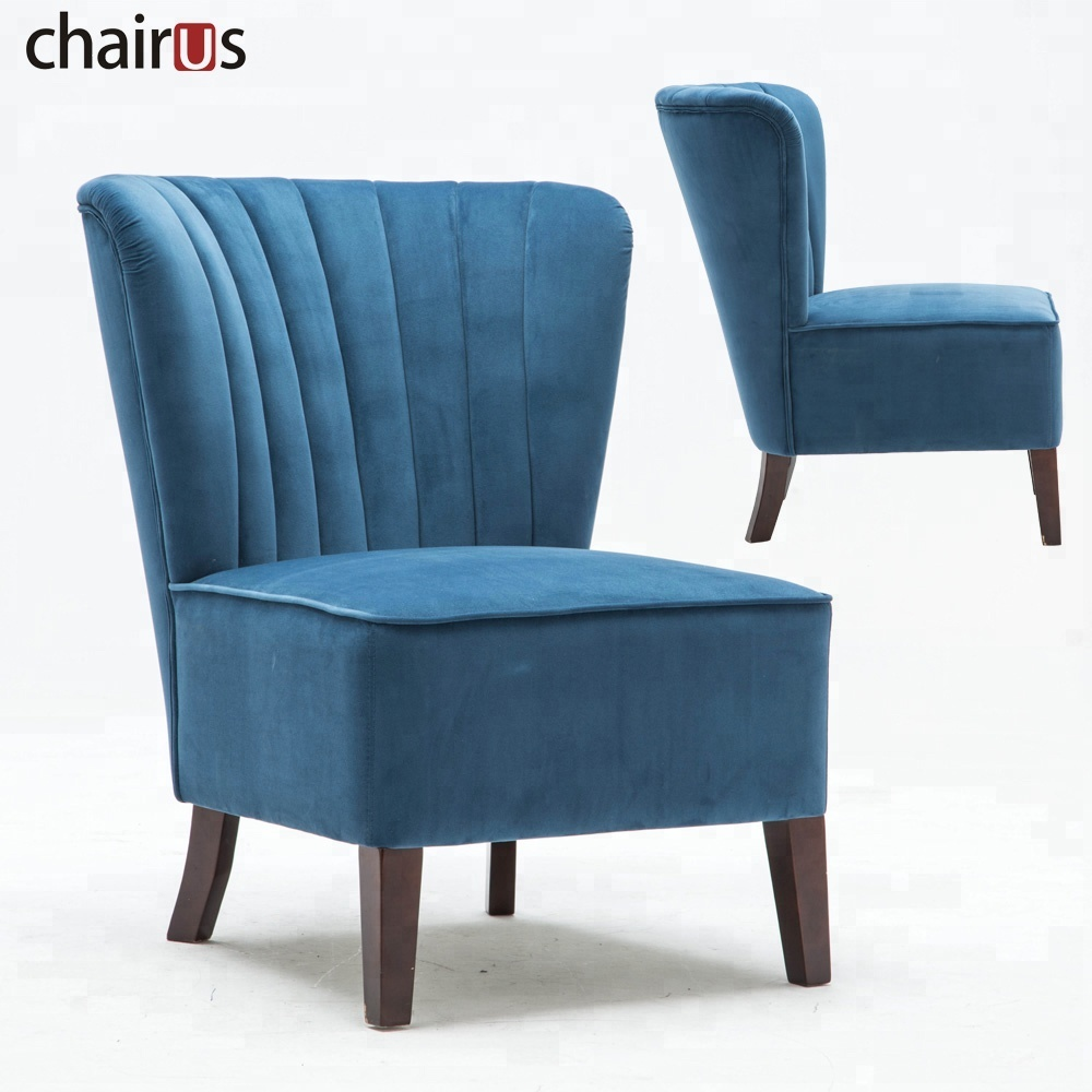 Furniture Sofa Living Room Home Wooden Lounge Fabric Leisure Floor Restaurant Accent Chair