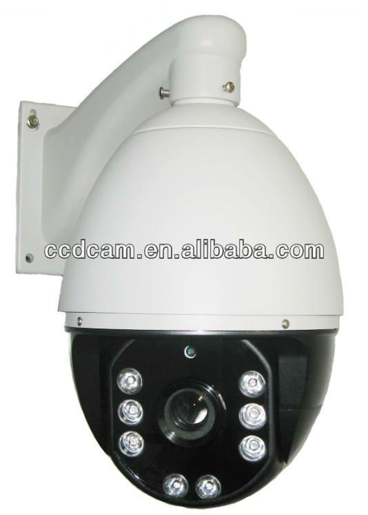 22x Zoom f=3.6~79.2mm cctv ccd outdoor ir high speed dome camera