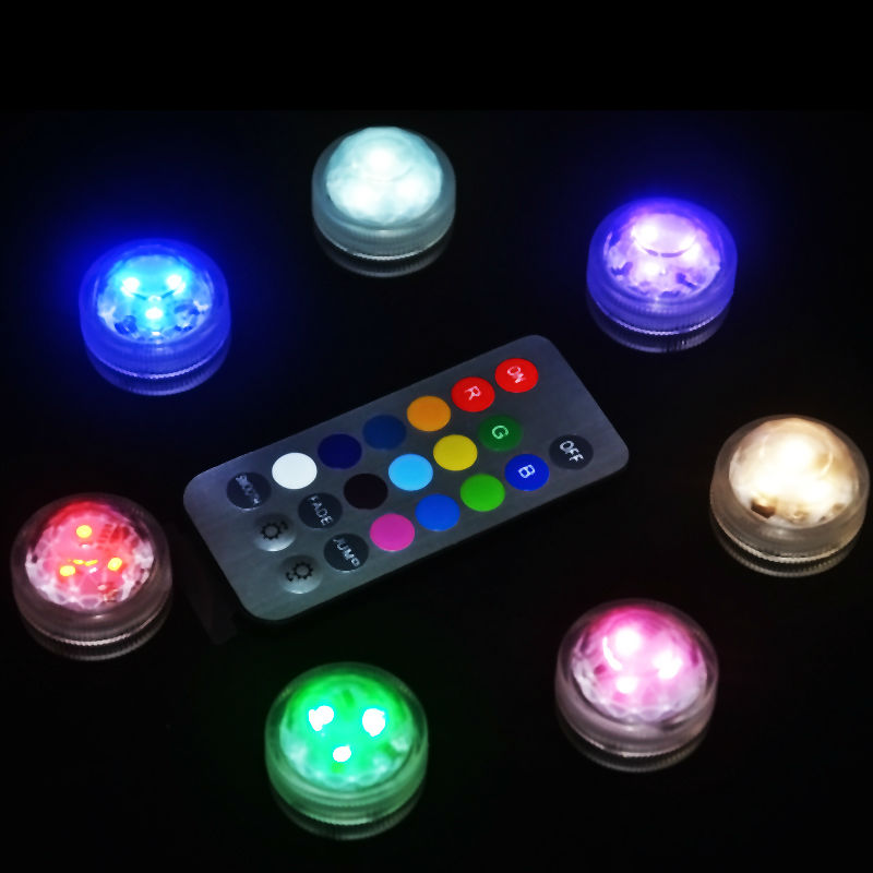 20pcs Lot Wireless Remote Controller Cake Party Decoration Small Battery Operated Waterproof Micro Mini Led Lights For Crafts