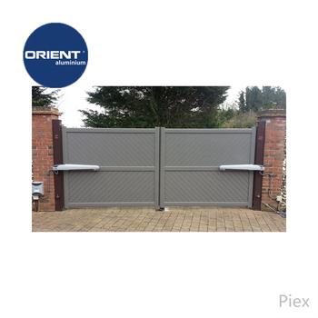 2018 New Main Gate Designs Aluminum Modern Open Gate Gate Designs In Sri  Lanka